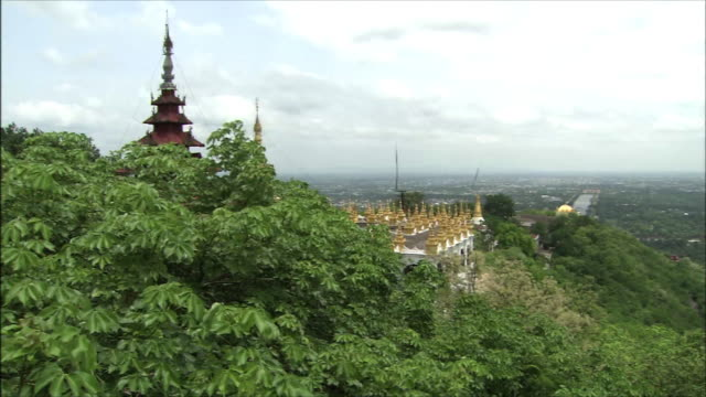 The Royal Palace In Myanmar