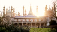 Il Royal Pavilion con sole
