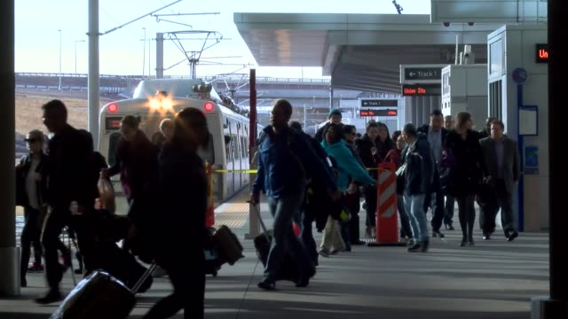 "The RTD ALine between downtown Denver and DIA the ""train to the plane"" has experienced period delays that cause passengers to transfer to buses and..."