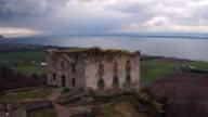 AERIAL: The ruins of Brahehus catlse