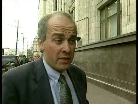 The Russian economic crisis deepens ITN EXT Communist leader Gennady Zyuganov towards out of building to speak to Rado Gennady Zyuganov interviewed...