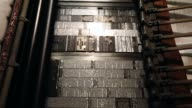 The Saguache Crescent newspaper is the last newspaper in the United States that is produced using a Linotype hot metal typesetting machine Dean...