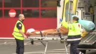The Saint Luc hospital in Brussels is one of a dozen admitting patients injured in explosions that ripped though the citys airport and a metro train...
