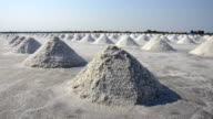 The salt farms industry, Salt making In a large area