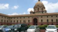 The Secretariat Building or Central Secretariat in the Administrative Centre Of New Delhi