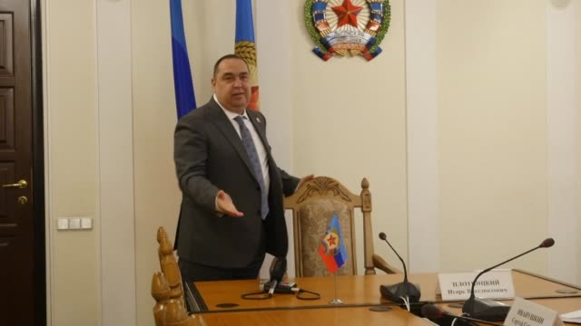 The selfproclaimed leader of the Moscowbacked rebel stronghold of Lugansk on Wednesday accused an exminister of masterminding a coup attempt as...