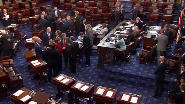 The Senate conducts its first roll call vote of the 2016 lame duck session upon returning to Washington a week after the election of Donald Trump for...