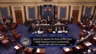 The Senate undergoes a procedure whereby the nuclear option lowering the threshold for limiting debate on Supreme Court nominees occurs Veteran...