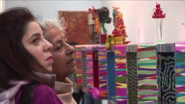 The seventh edition of the India Art Fair opens in New Delhi with more than three thousand works by local and international artists on display