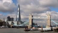 The Shard and Tower Bridge - London, England