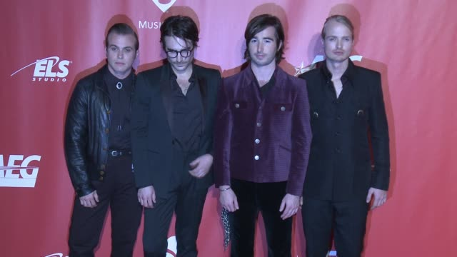 The Shelters Sebastian Harris Jacob Pillot Chase Simpson Josh Jove at MusiCares Person of the Year Honoring Tom Petty in Los Angeles CA
