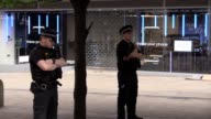 The shopping centre was cordoned off and evacuated following reports of a suspcious package bringing fresh panic following Monday night's Manchester...
