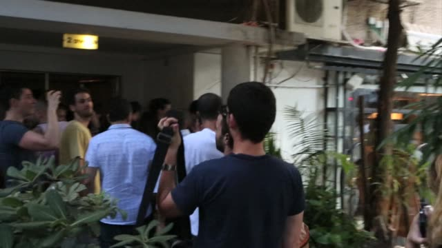 The sirens sounded Tuesday in Tel Aviv after a rocket alert prompting people to take refuge in safe places