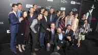 The 'Son' Cast at the Premiere Of AMC's 'The Son' on April 03 2017 in Hollywood California