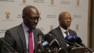The South African Minister of Home Affairs Malusi Gigaba calls for calm after a series of violent attacks on immigrants which have raised the spectre...