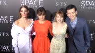 The Space Between Us Cast Janet Montgomery Carla Gugino Britt Robertson Asa Butterfield at 'The Space Between Us' LA Special Screening on January 17...