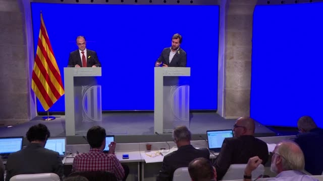 The spokesman of the Catalan government eluded a question about a possible early election although he had thus far reiterated that this was not an...