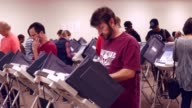 The state of Ohio opened select polling places early ahead of the Nov 8 2016 presidential election