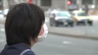 The suffocating smog that blanketed swathes of China is now hitting parts of Japan sparking warnings of health risks for the young and the sick CLEAN...
