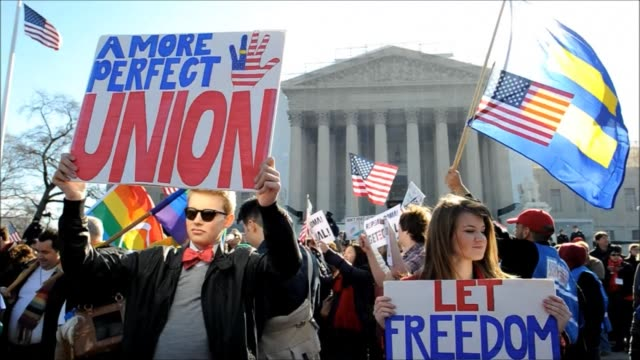 The Supreme Court signals it can throw out a US law that defines marriage as strictly between a man and a woman in a second day of hearings on the...