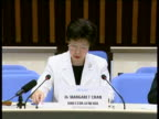 The swine flu crisis has escalated into the world's first influenza pandemic in 40 years the World Health Organization declared Thursday saying...