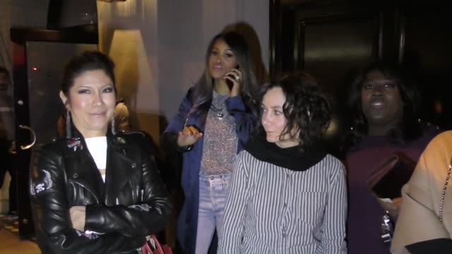 'The Talk' hosts Sara Gilbert Julie Chen Sheryl Underwood Eve leave dinner at Craigs Restaurant in West Hollywood in Celebrity Sightings in Los...