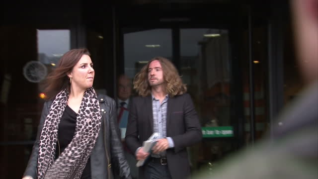 The television presenter Justin Lee Collins admitted to police that he slapped his exgirlfriend BUT says it was only to calm her down A court heard...