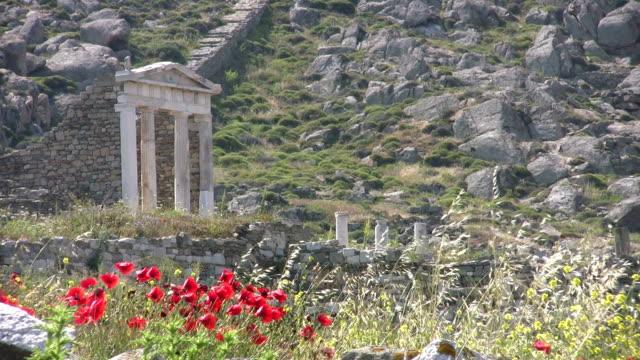 Die Temple of Isis auf Delos