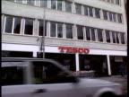 Tesco Chairman 500% payrise Goodge St Tesco voxpops intvw Garfield Davies shopworkers union