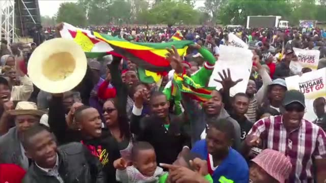 The tide seemed to be turning against embattled President Robert Mugabe on Saturday as thousands of Zimbabweans took to the streets in rallies...