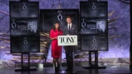 CLEAN The Tony Awards Nominations Announcement at The Tony Awards Nominations Announcement at The Paramount Hotel on May 03 2016 in New York City