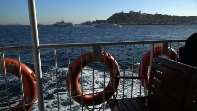 Der Topkapi-Palast und die Hagia Sophia vom Meer