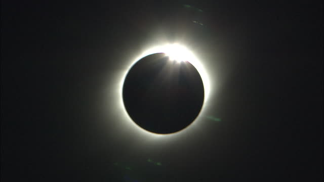The total solar eclipse seen from the ship/ The Pacific Ocean