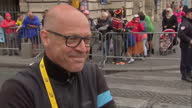 The Tour de France to finish in Paris with Chris Froome wearing the yellow jersey Shows exterior shots interview with Sir David Brailsford reiterates...