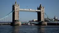 Der Tower Bridge in London