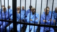 The trial of thirty seven former officials of slain Libyan dictator Moamer Kadhafi continued in Tripoli today with charges including murder...