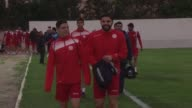 The Tunisian national team was training Sunday for the African Cup of Nations which will take place in Gabon from the 14th of January until the 5th...