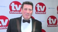 The TV Choice Awards red carpet interviews ENGLAND London INT Amrit Maghera Kieron Richardson and Jennifer Metcalfe interview SOT Tony Hadley...