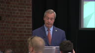 The UKIP leader Nigel Farage has become the latest leader to resign in the aftermath of the EU referendum At his resignation speech he spoke about...