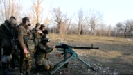 The Ukrainian army completed the withdrawal of multiple rocketlaunching systems the heaviest weapons from the frontline in eastern regions of Ukraine...