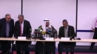 The UN Secretary Generals Humanitarian Envoy Abdullah al Maqout and UN refugee chief Antonio Guterres Monday gave a press conference in Khartoum...