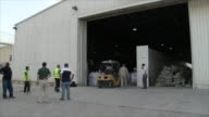 The United Nations World Food Programme delivered food by air for hungry people trapped in the besieged eastern Syrian city of Deir Ezzor A total of...