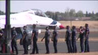 KTXL The United States Air Force Thunderbirds At The California Capital Air Show