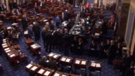 The United States Senate adopts the conference report accompanying the annual defense authorization sending the legislation to President Obama...