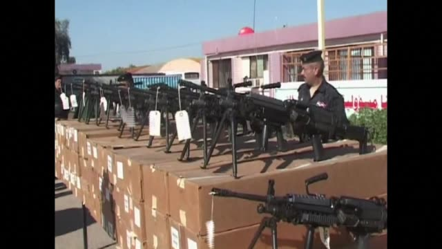 The United States sent weapons on Sunday to the Iraqi army which is currently embattled in a fight with jihadists from the Islamic State group in the...