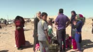 The UN's refugee agency opened a new IDP camp in the Iraqi town Hammam al Alil south of Mosul to host people who have been displaced by the fighting...