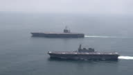 The US aircraft carrier George Washington left a US naval base in Yokosuka southwest of Tokyo for the United States on Monday ending its sevenyear...