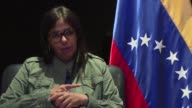 The Venezuelan former Foreign Minister and candidate for the upcoming constituent elections Delcy Rodriguez defends in an exclusive interview with...