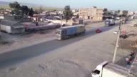 The video footaged on 15 and 20 May shows that US weapons carried by trucks are being arrived to Syria's alHasakah for the PKK/PYD terrorist...