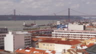 The view from Miradouro da Santa Catarina, Lisbon.